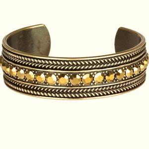 Empress Etiquette - Brass Bracelet